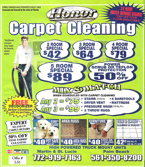 Honor Carpet Plus Cleaning & Restoration